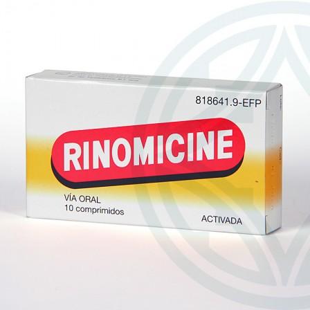 Farmacia Jiménez | Rinomicine Activada 10 comprimidos