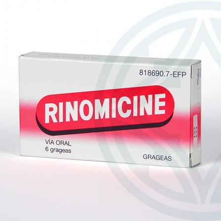 Farmacia Jiménez | Rinomicine grageas 6 grageas