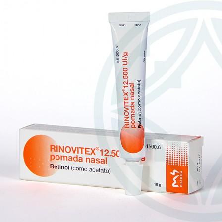 Farmacia Jiménez | Rinovitex pomada nasal 10 g