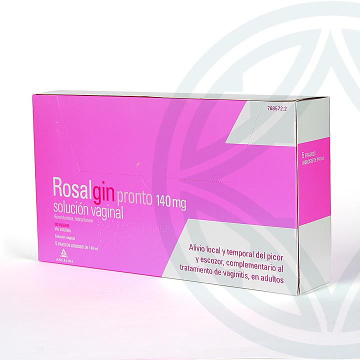 Farmacia Jiménez   Rosalgin Pronto 140 mg Solución Vaginal