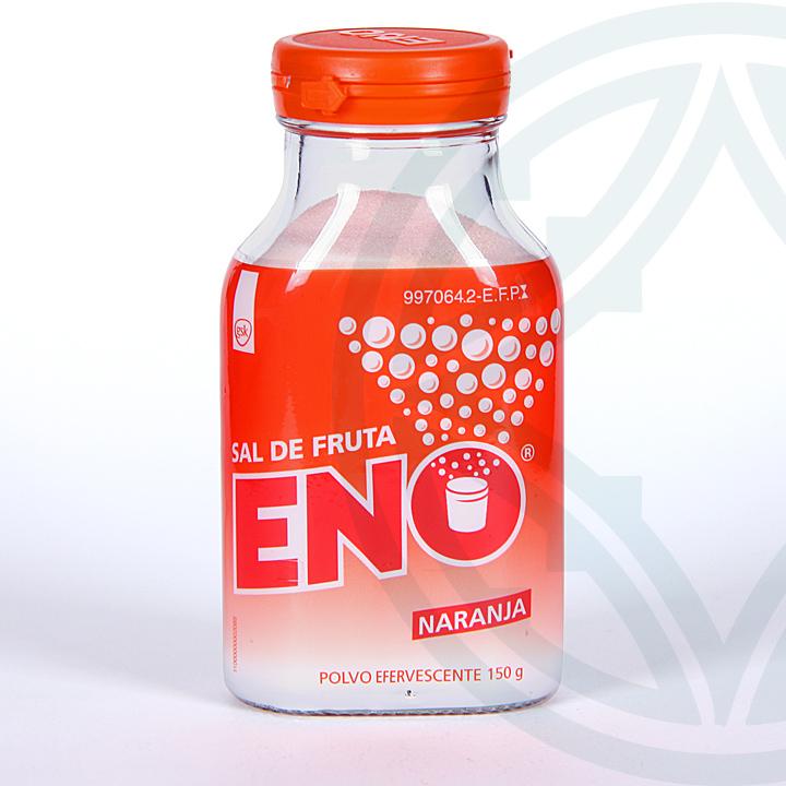 Farmacia Jiménez | Eno Sal de Fruta Naranja polvo efervescente 150 g