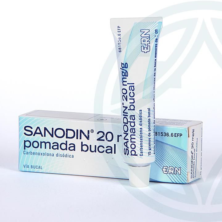 Farmacia Jiménez | Sanodin pomada bucal 15 g