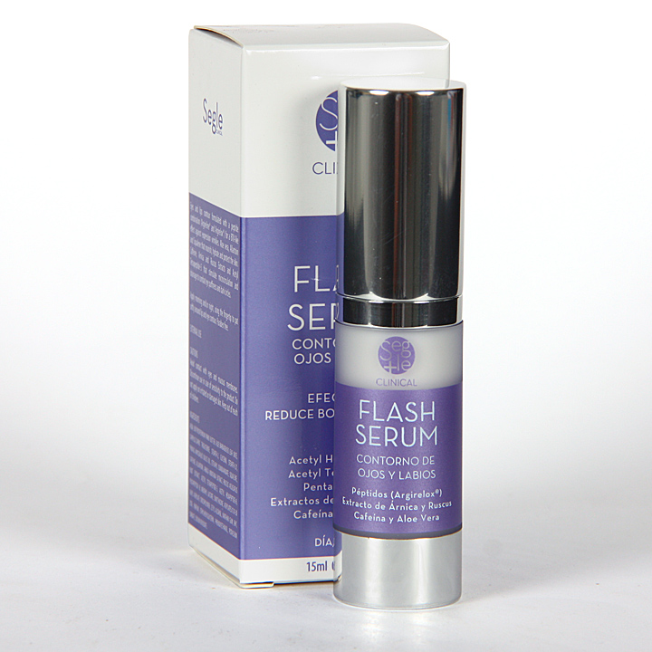 Farmacia Jiménez | Segle Clinical Flash Serum Contorno de ojos y labios 15 ml