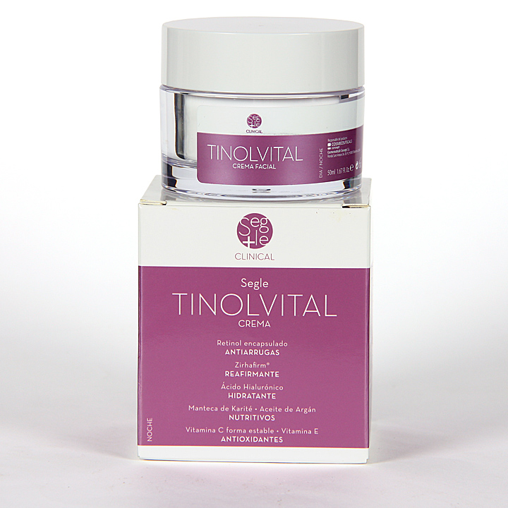 Farmacia Jiménez | Segle Clinical Tinolvital Crema Facial 50 ml