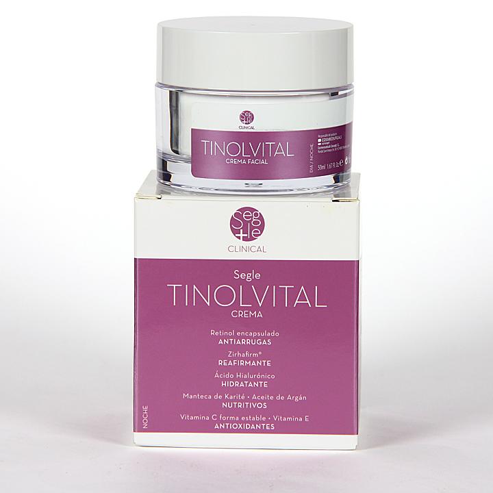 Farmacia Jiménez | Segle Clinical Tinolvital Crema 50 ml
