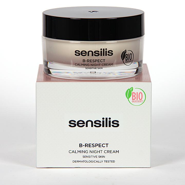 Farmacia Jiménez | Sensilis B-Respect Crema Calmante De Noche 50 ml