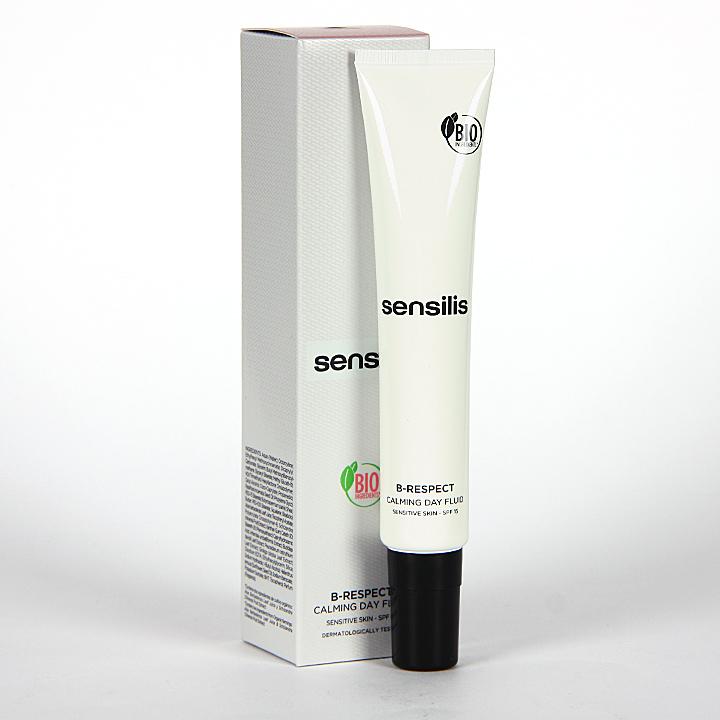 Farmacia Jiménez | Sensilis B-Respect Fluido Calmante De Dia SPF 15 50 ml