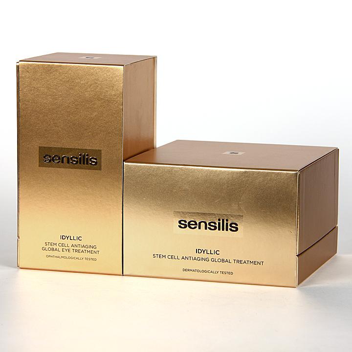 Farmacia Jiménez | Sensilis Idyllic Pack Crema 50 ml + Contorno de ojos 15 ml Regalo
