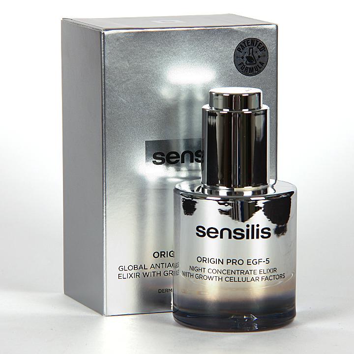 Farmacia Jiménez | Sensilis Origin Pro EGF-5 Elixir Concentrado de Noche 30 ml
