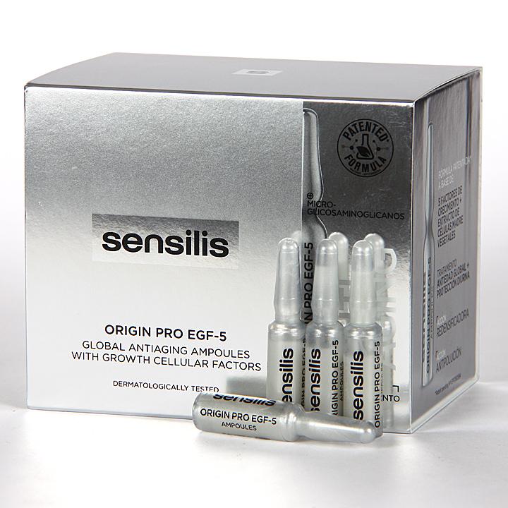 Farmacia Jiménez | Sensilis Origin Pro EGF5 30 ampollas