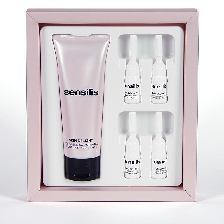 Farmacia Jiménez | Sensilis Skin Delight Tratamiento intensivo de noche