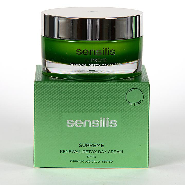 Farmacia Jiménez | Sensilis Supreme Renewal Detox Crema Día 50 ml
