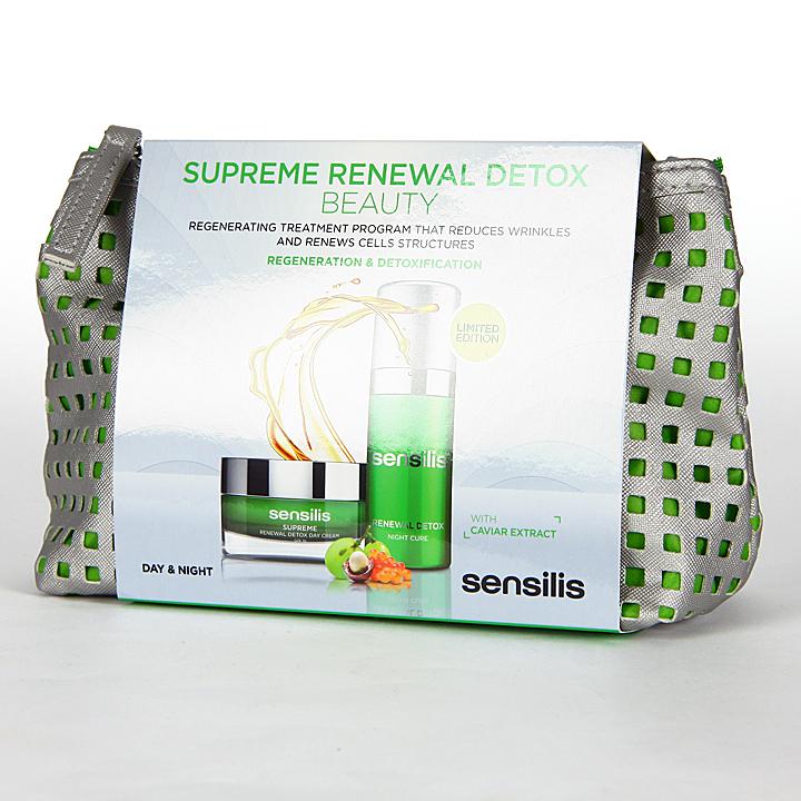 Farmacia Jiménez | Sensilis Supreme Renewal Detox Dia y Noche Neceser Pack