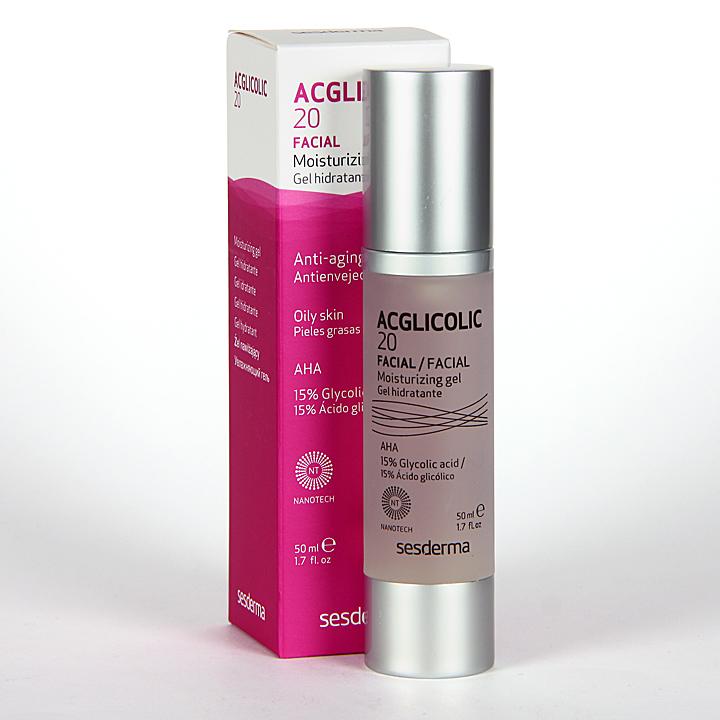 Farmacia Jiménez | Sesderma Acglicolic 20 Gel Hidratante 50 ml