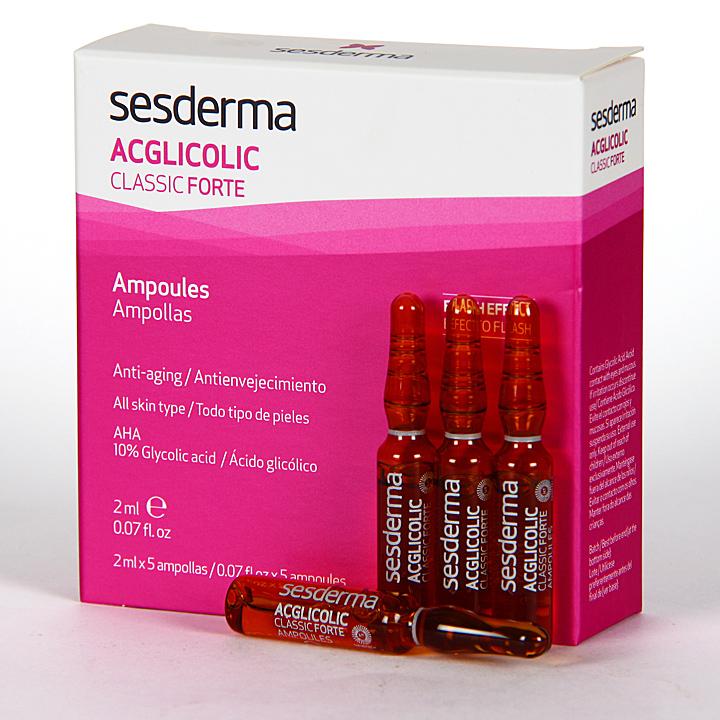 Farmacia Jiménez | Sesderma Acglicolic Classic Ampollas Forte 5x2ml