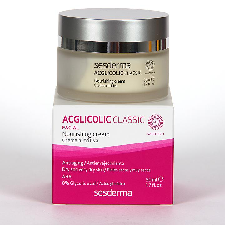Farmacia Jiménez | Sesderma Acglicolic Classic Crema Nutritiva 50 ml