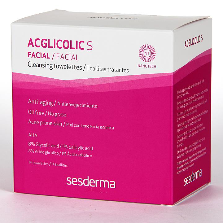 Farmacia Jiménez | Sesderma Acglicolic S Toallitas Tratantes 14 unidades