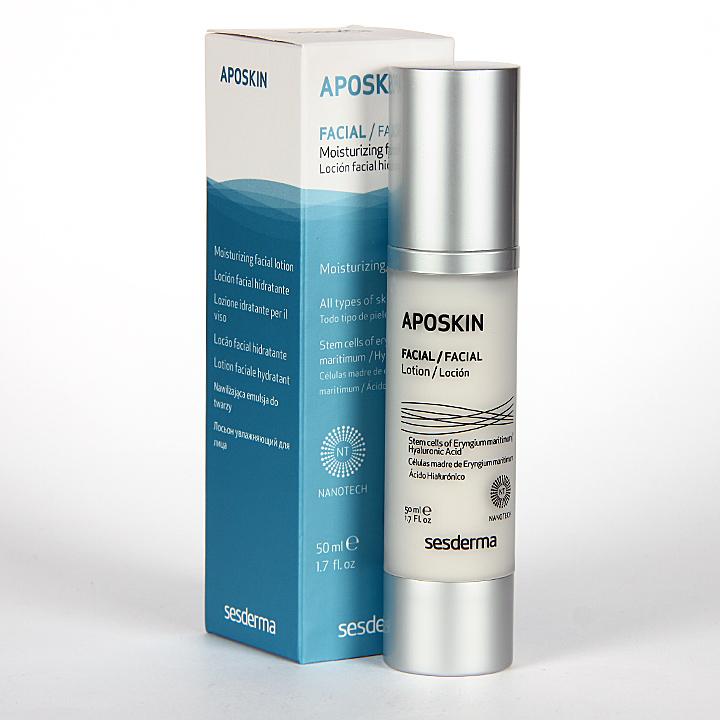 Farmacia Jiménez | Sesderma Aposkin Loción Facial Hidratante 50 ml