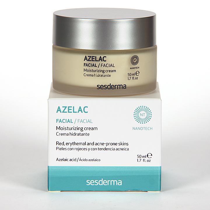 Farmacia Jiménez | Sesderma Azelac Crema Facial Hidratante 50 ml