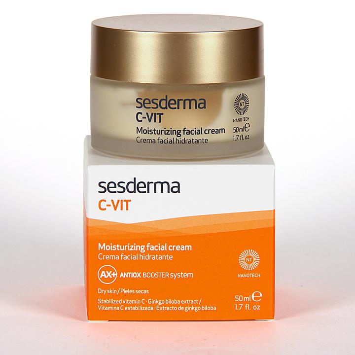 Farmacia Jiménez | Sesderma C-VIT Crema Facial Hidratante 50 ml