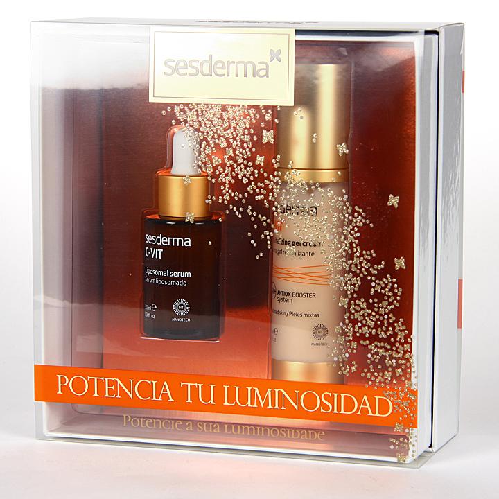 Farmacia Jiménez | Sesderma C-VIT Crema Gel Revitalizante + C-VIT Serum Pack