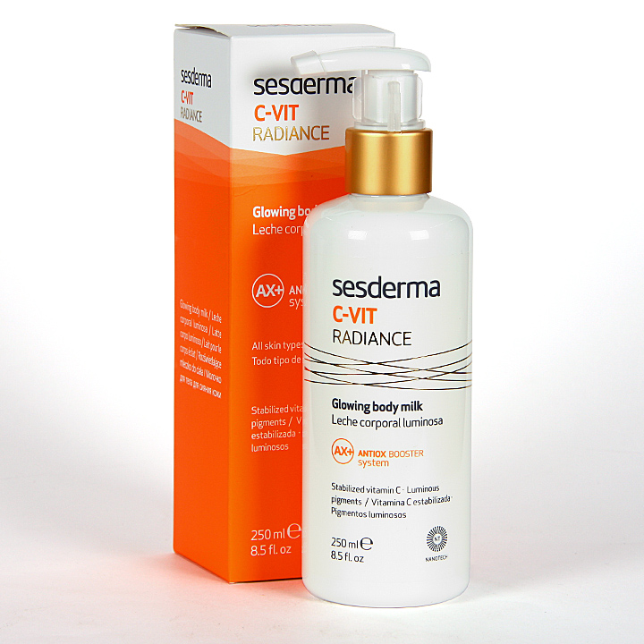 Farmacia Jiménez | Sesderma C-Vit Radiance Leche Corporal 250 ml