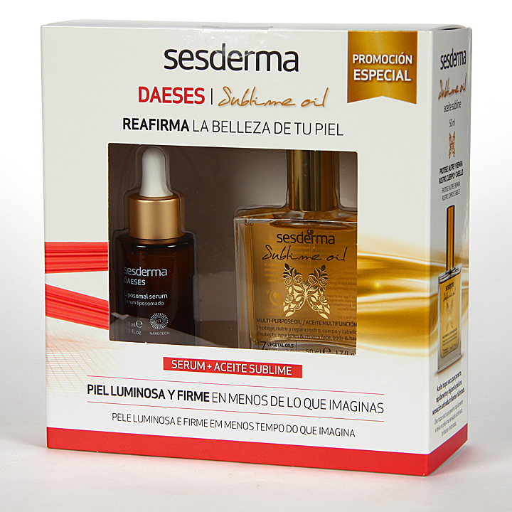 Farmacia Jiménez | Sesderma Daeses Serum + Aceite Sublime Pack Regalo
