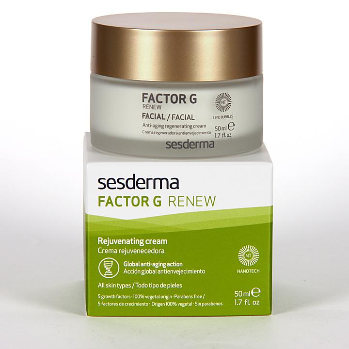 Farmacia Jiménez | Sesderma Factor G Renew Crema Rejuvenecedora 50 ml