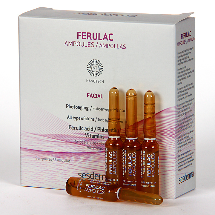 Farmacia Jiménez | Sesderma Ferulac Liposomal Ampollas 5x2ml