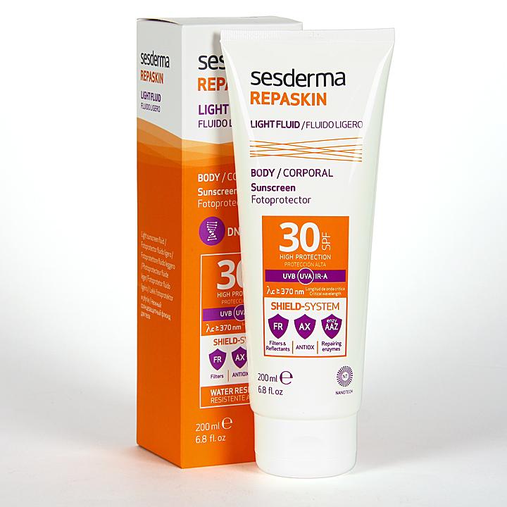 Farmacia Jiménez | Sesderma Repaskin Loción SPF30 200 ml