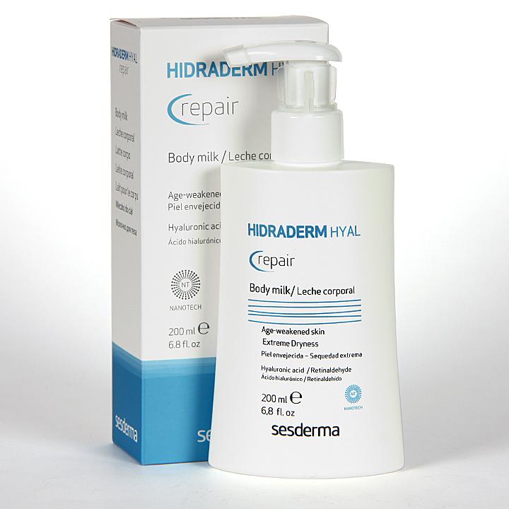 Farmacia Jiménez | Sesderma Hidraderm Hyal Repair Leche corporal 200 ml