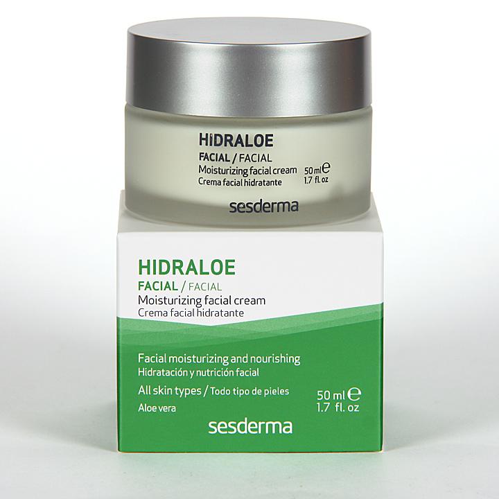 Farmacia Jiménez | Sesderma Hidraloe Crema Facial Hidratante 50 ml