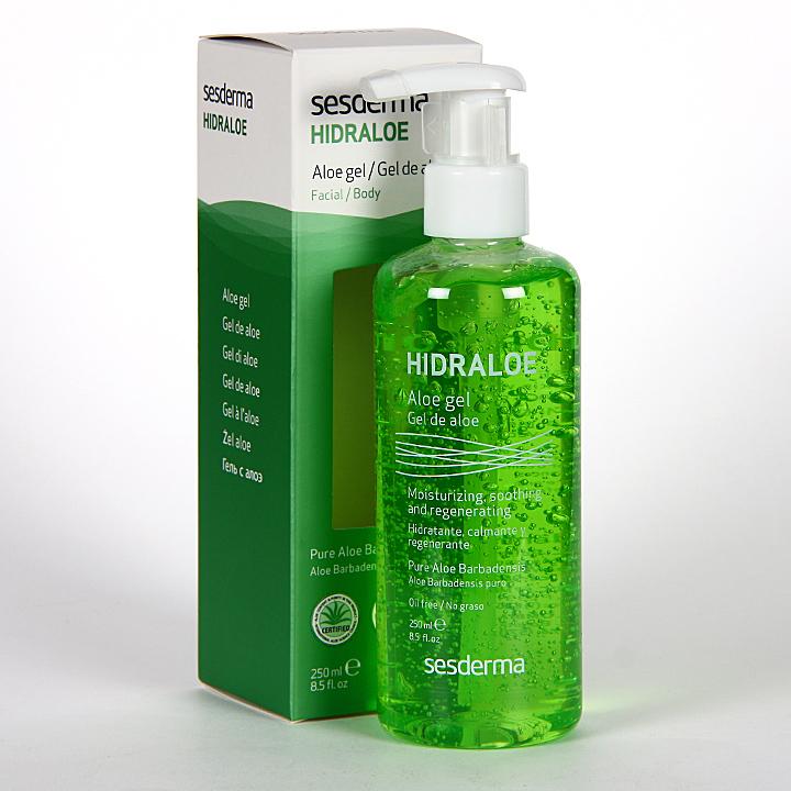 Farmacia Jiménez | Sesderma Hidraloe Gel de Aloe 250 ml