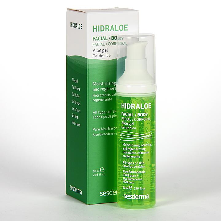 Farmacia Jiménez | Sesderma Hidraloe Gel de Aloe 60 ml
