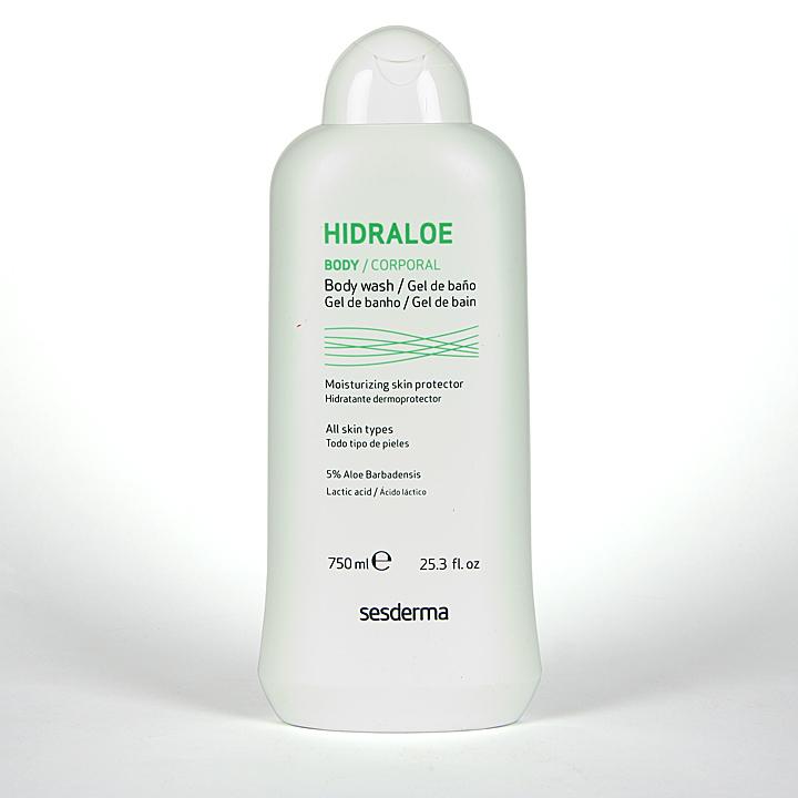 Farmacia Jiménez | Sesderma Hidraloe Gel de Baño 750 ml