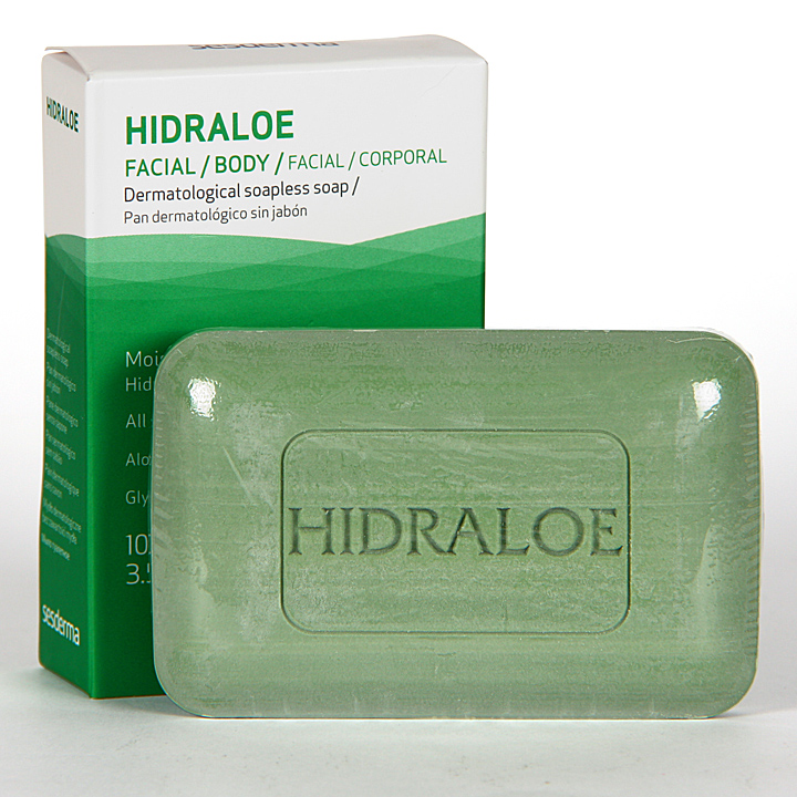 Farmacia Jiménez | Sesderma Hidraloe Pan Dermatológico 100 g