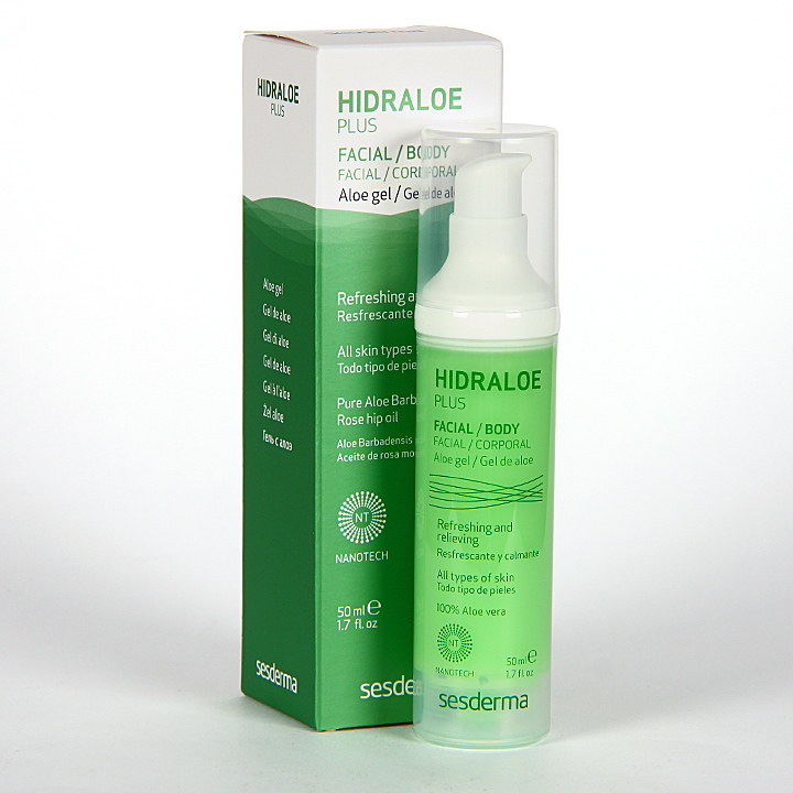 Farmacia Jiménez | Sesderma Hidraloe Plus Gel de Aloe 50 ml