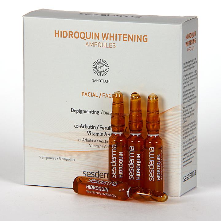 Farmacia Jiménez | Sesderma Hidroquin Whitening Ampollas 5x2ml