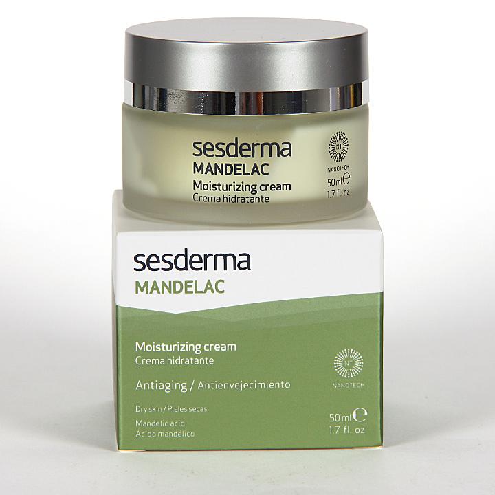 Farmacia Jiménez | Sesderma Mandelac Crema Hidratante 50 ml