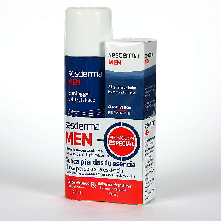 Farmacia Jiménez | Sesderma Men Gel de afeitado + Sesderma Men After shave Pack