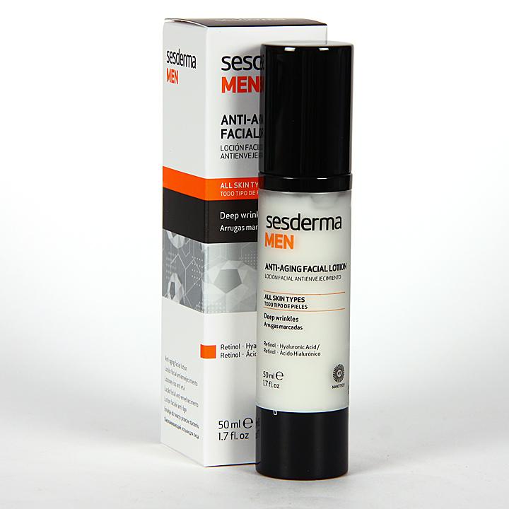 Farmacia Jiménez | Sesderma Men Loción Facial Antienvejecimiento 50 ml