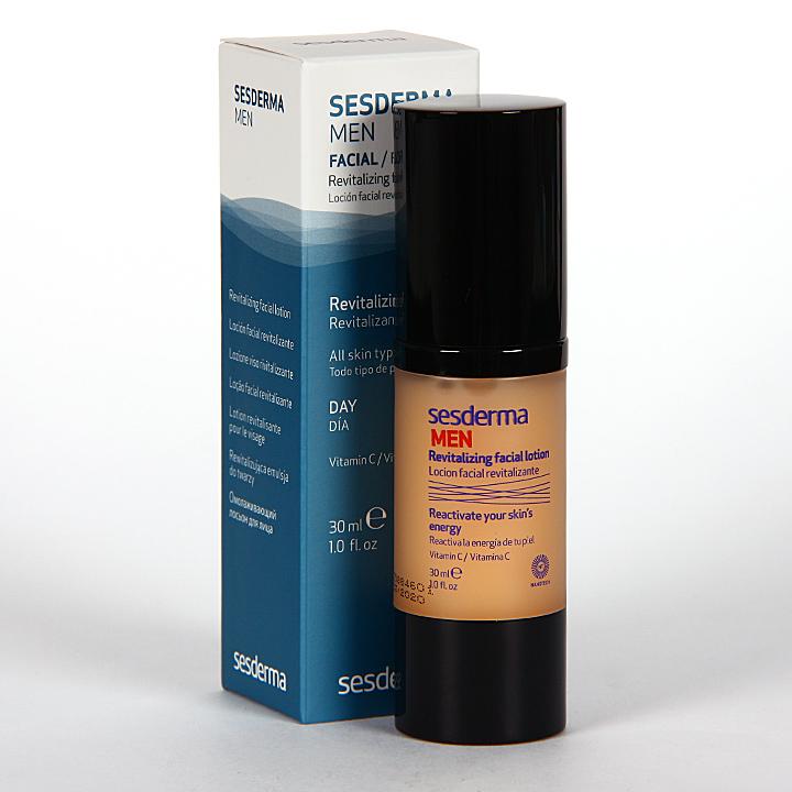 Farmacia Jiménez | Sesderma Men Loción Facial Revitalizante 30 ml