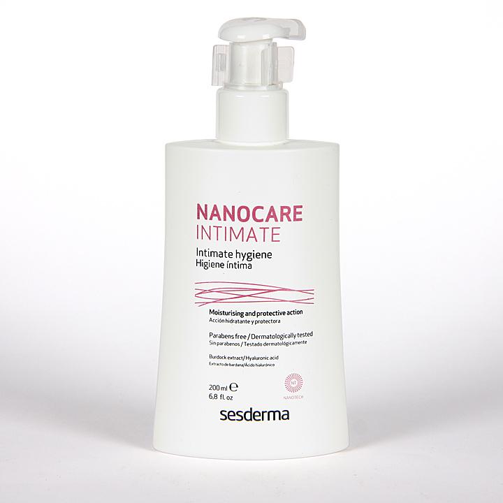 Farmacia Jiménez | Sesderma Nanocare Intimate Higiene Íntima 200 ml