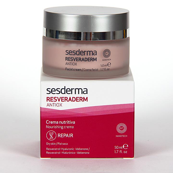 Farmacia Jiménez | Sesderma Resveraderm Crema Nutritiva 50 ml