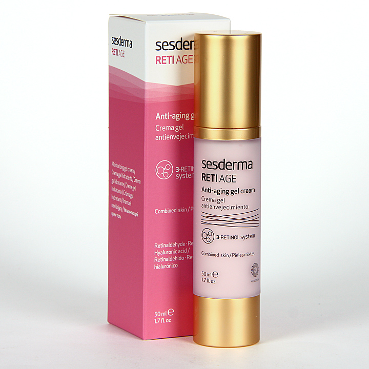 Farmacia Jiménez | Sesderma Reti-Age Crema Gel Antienvejecimiento 50 ml