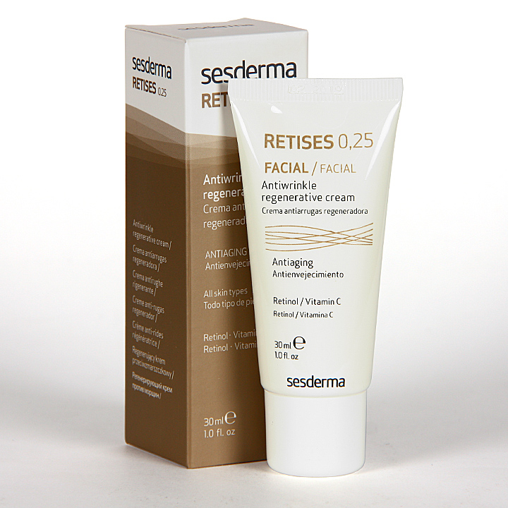 Farmacia Jiménez | Sesderma Retises Crema Antienvejecimiento 0,25% 30 ml