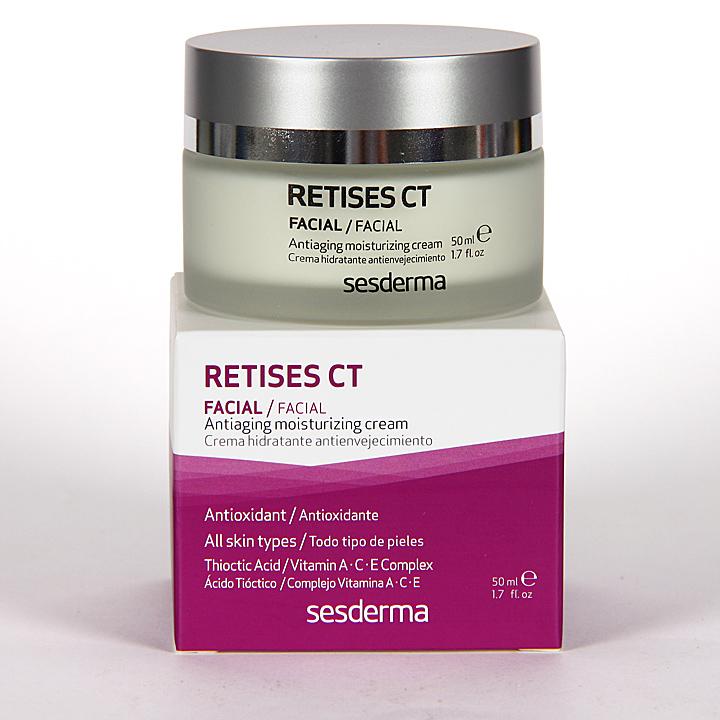Farmacia Jiménez | Sesderma Retises CT Crema Hidratante Antienvejecimiento 50 ml