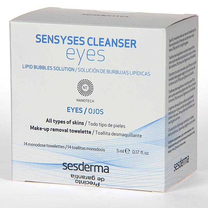 Farmacia Jiménez | Sesderma Sensyses Cleanser Eyes 14 monodosis