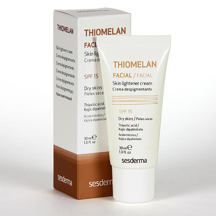 Farmacia Jiménez | Sesderma Thiomelan Crema Despigmentante SPF 15 30 ml