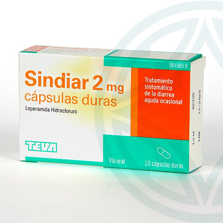 Farmacia Jiménez | Sindiar 2 mg 10 cápsulas